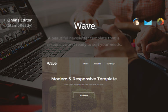 Wave Business Email Builder