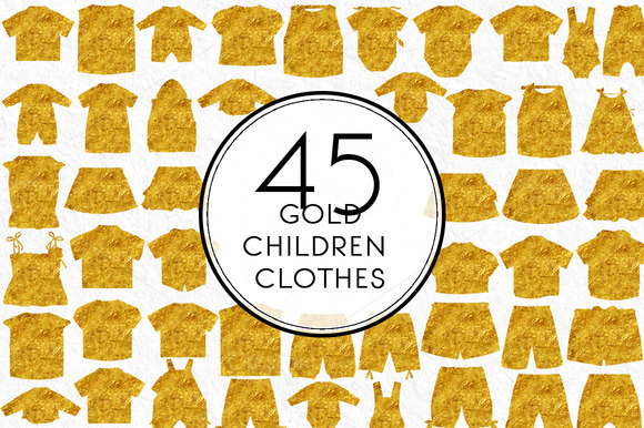 Gold Children S Clothes