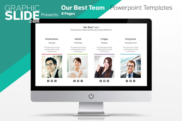 Our Best Team Powerpoint Templates