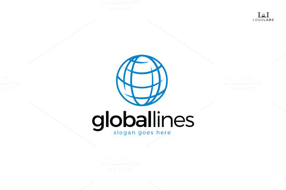 Global Lines Logo