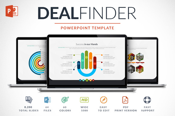 Deal Finder Powerpoint Template
