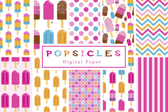 40% Off Popsicle Backgrounds