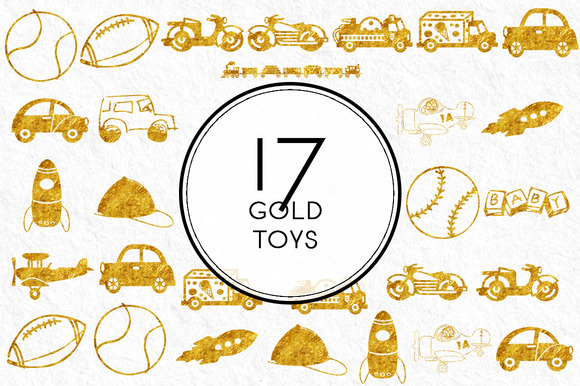 Gold Toys