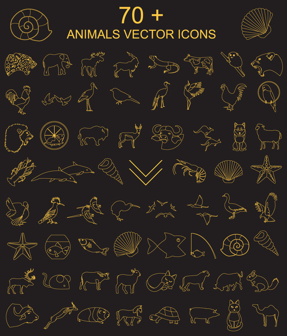 70 Animals Icon