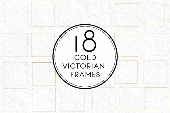 Gold Victorial Frames