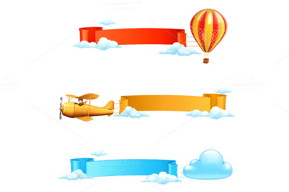 Set Of Air Banners