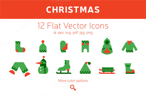 Christmas Icons Clothing