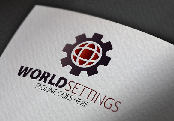 World Settings Logo