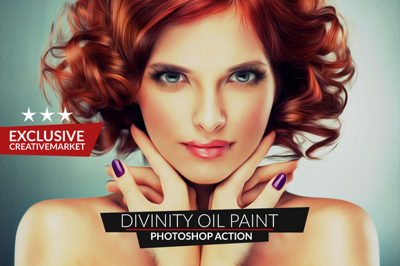 Divinity Oil Paint Action