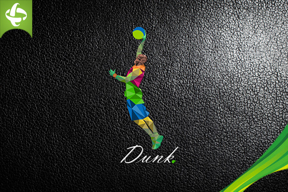 Basketball Dunks Logo