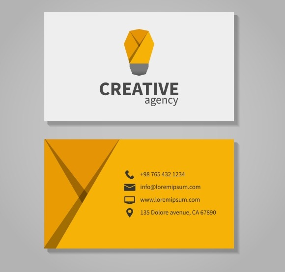 Creative Agensy Business Card