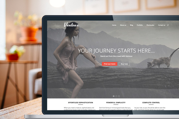 Ventoux Premium Wordpress Theme