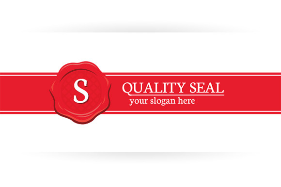 Quality Seal Logo Template
