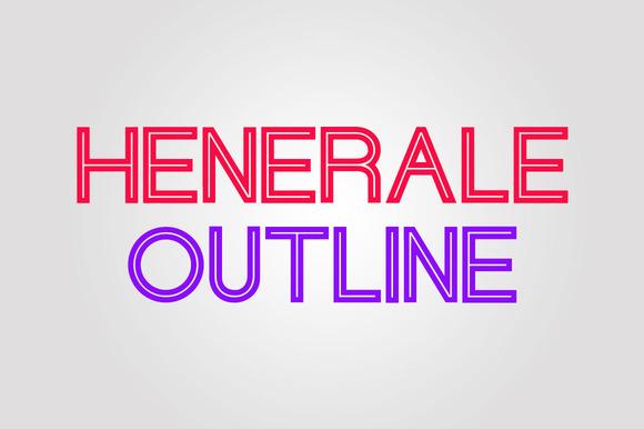 Henerale Outline