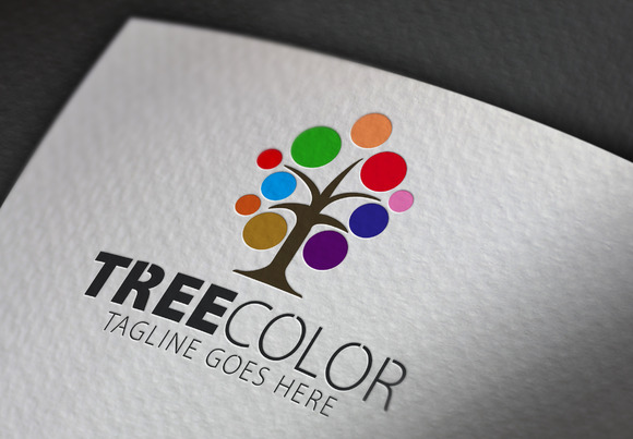 Tree Color V2 Logo