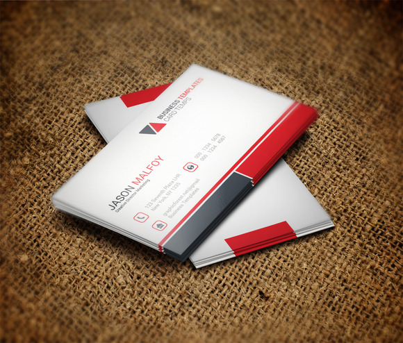 Digital Business Card Template
