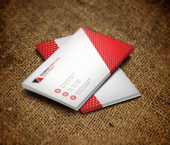 Print Business Card Template