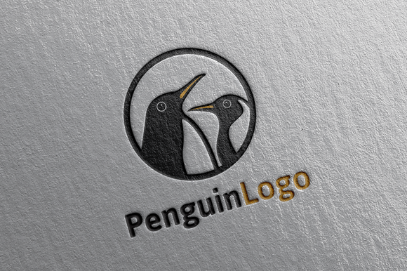 Penguin Logo Template