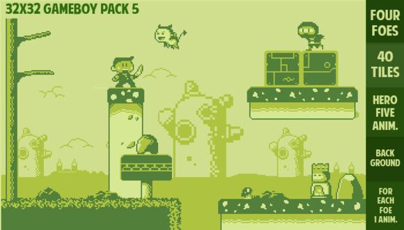 Gameboy Gamepack 5