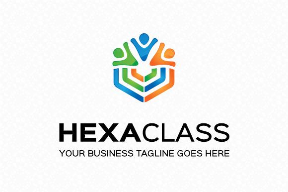Hexa Class Logo Template