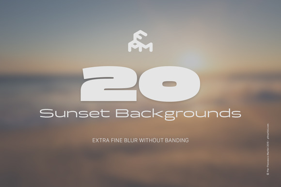 20 Blurred Sunset