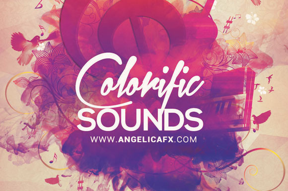 Colorific Sound Flyer Template