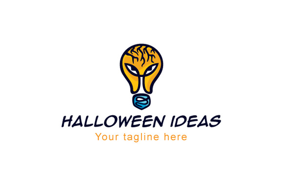 Halloween Ideas Logo