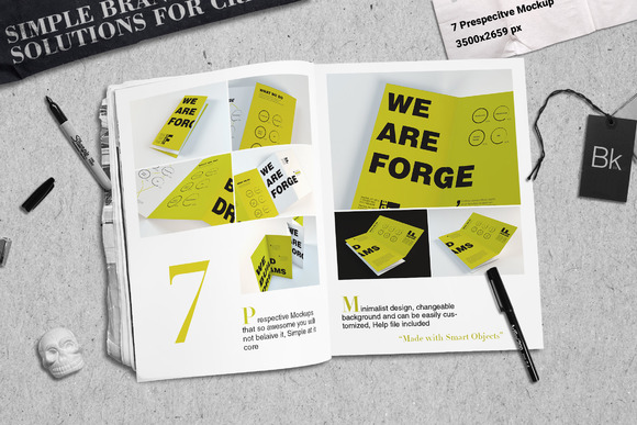 Brochure Mockup Forge