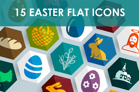 15 EASTER Icons