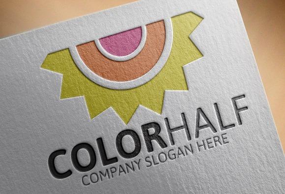 Color Half Logo