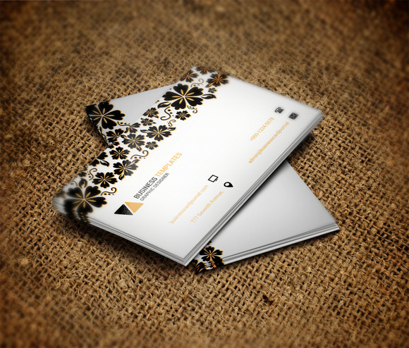 Cute Business Card Template