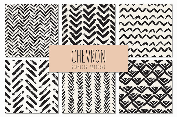 Chevron Seamless Patterns Set V.3