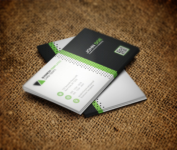 System Business Card Template