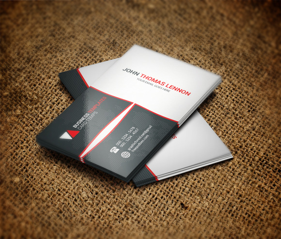 Code Business Card Template