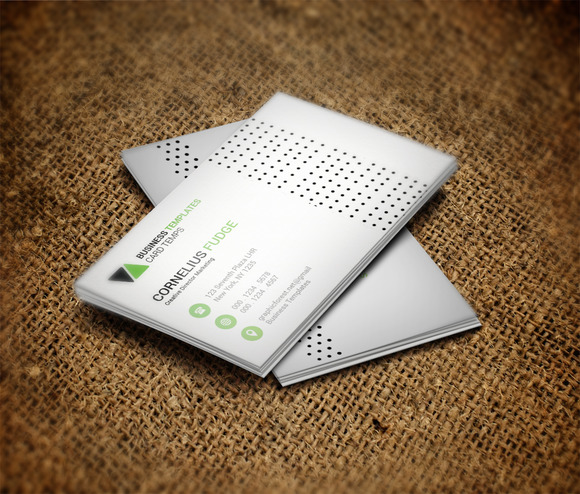 Power Business Card Template