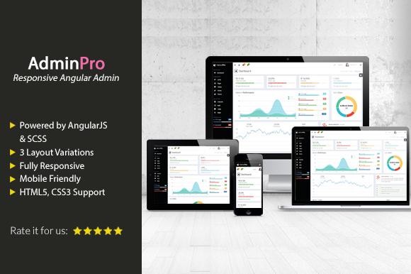 AdminPro Angular Admin Template
