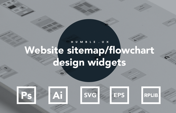 Website Sitemap Flowchart Widgets