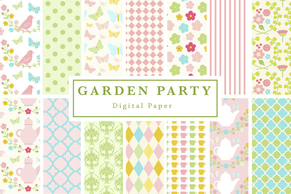 Garden Party Backgrounds