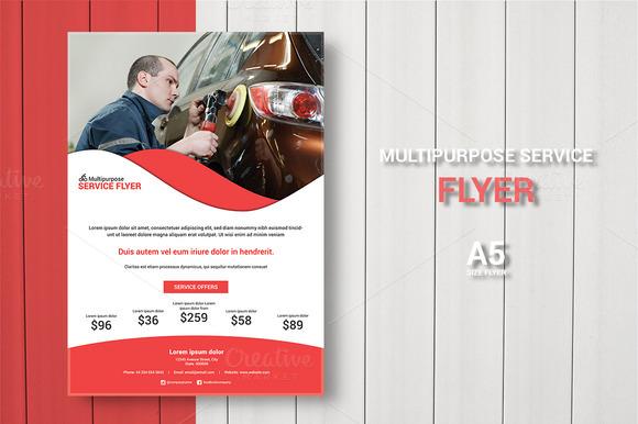 Multipurpose Service Flyer