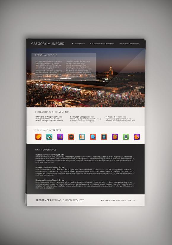 Portfolio Mark III CV Resume