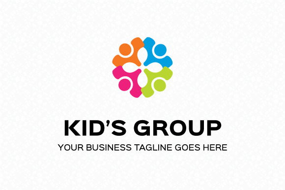 Kid S Group Logo Template