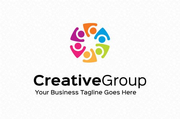 Creative Group Logo Template