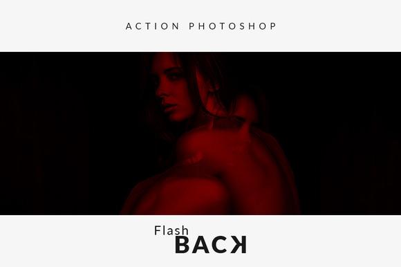 Flash Back Photoshop Action