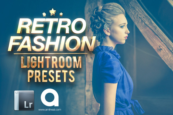 Retro Fashion Lightroom Presets