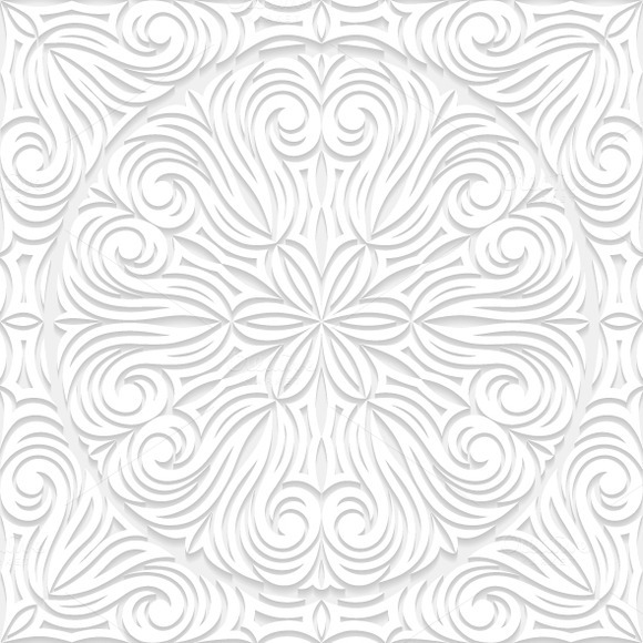 Set Of Decorative Seamless Patterns