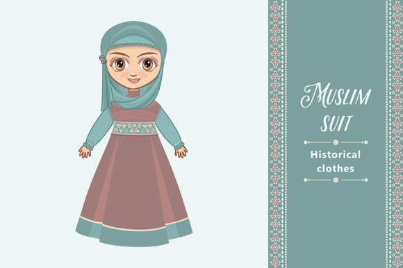 The Doll In Muslim Dress