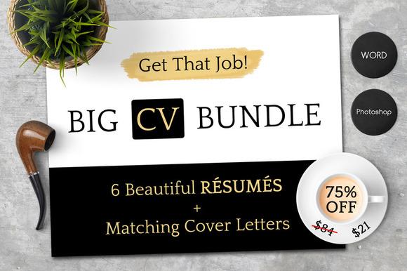 Get That Job Big CV Bundle