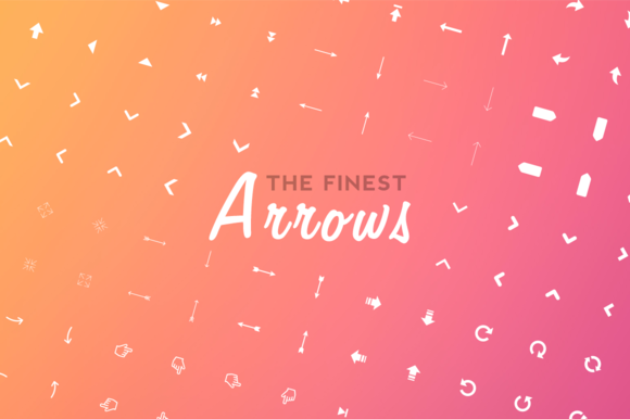 196 Arrows Icon Set
