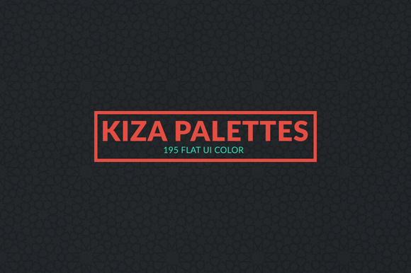 Kiza Flat Color Swatches