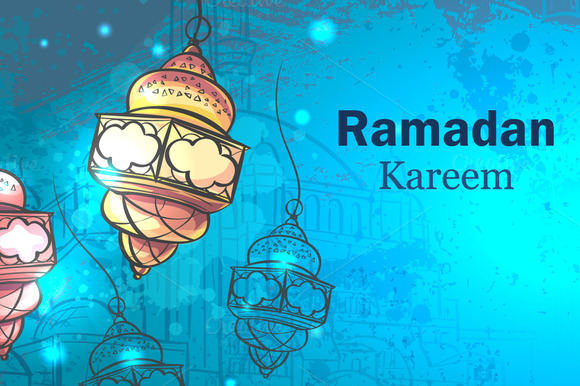 Ramadan Kareem Lamps For Ramadan